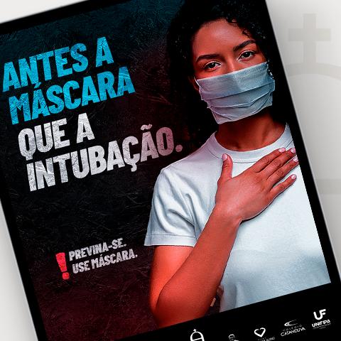 Campanha de Conscientização do Uso de Máscara